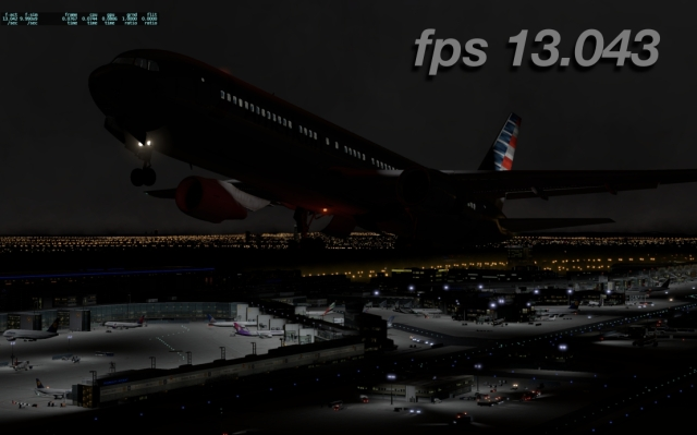 eddf 2 767 to 13fps