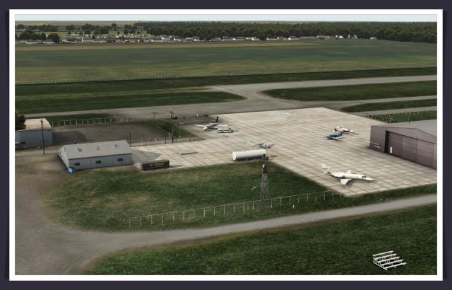 x + sim + reviews + airport scenery review + KTTF Custer | x