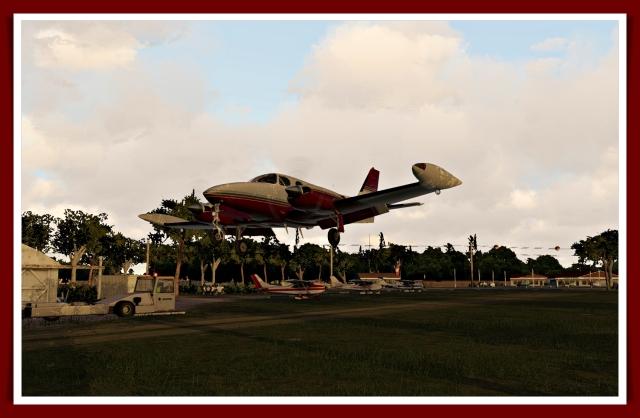 340 landing flare