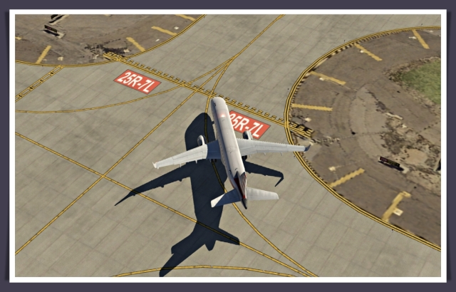 LAX taxiway markings