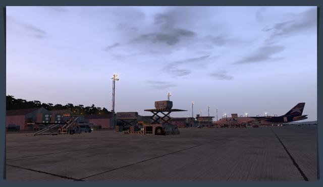 scel air cargo ramp