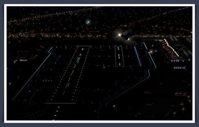 sna runway lighting