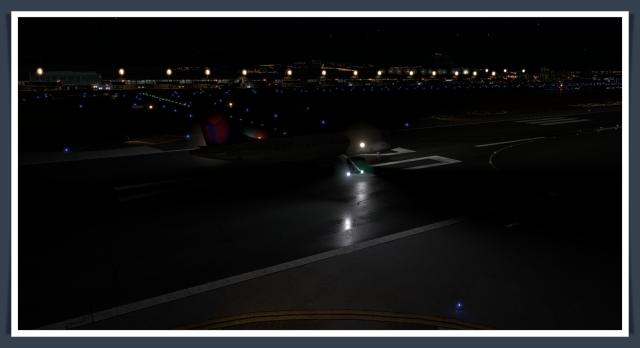 sna runway reflections