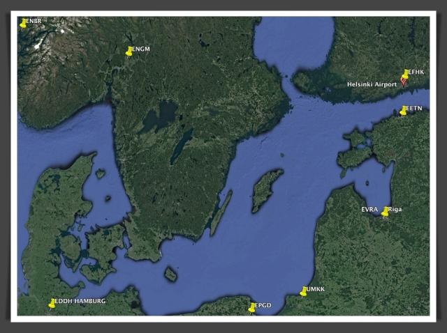 UMKK map