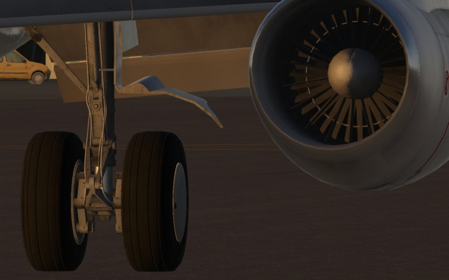 732 nacelle and gear