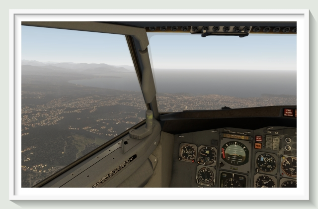 732 over Cannes