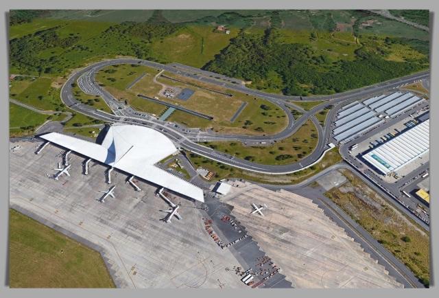 Airport Bilbao terminal GE