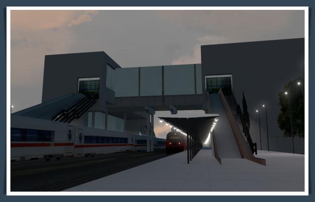 AVE station 1