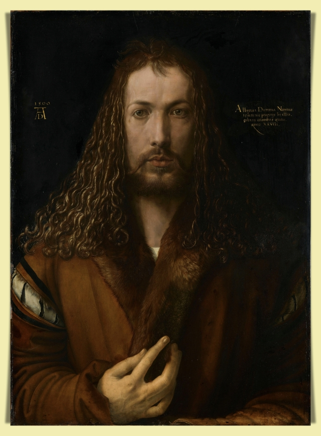 Dürer self-portrait
