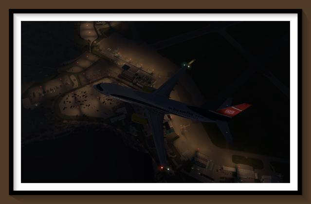 EINN overhead 737