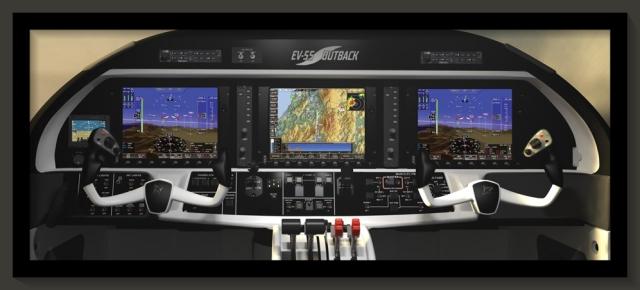 EV55 real panel
