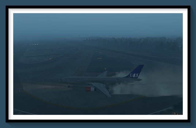 GCLP Cold taxiway 2