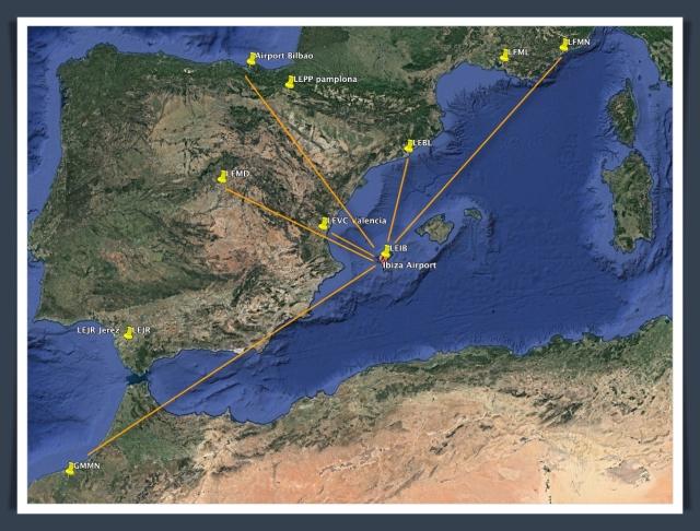 LEIB GE routes