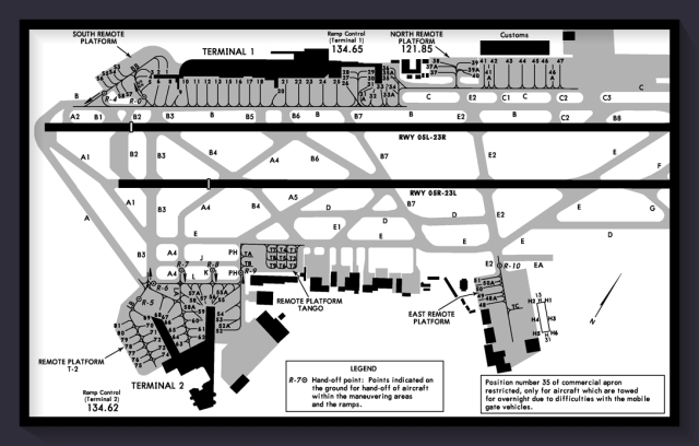 MMMX airport diagram