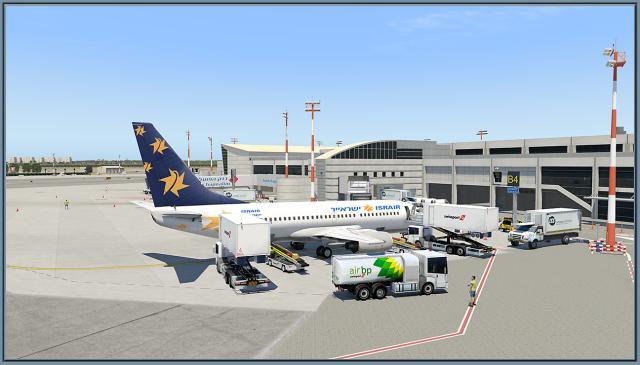 LLBG 737 Israir